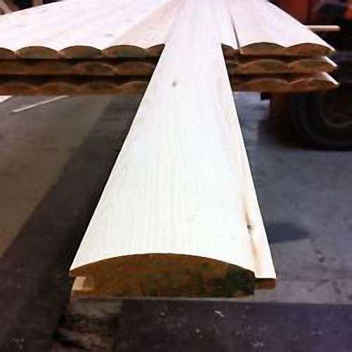 Premium Loglap Timber