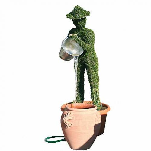 Man With Bucket And Water (Ligustrum Jonandrum)