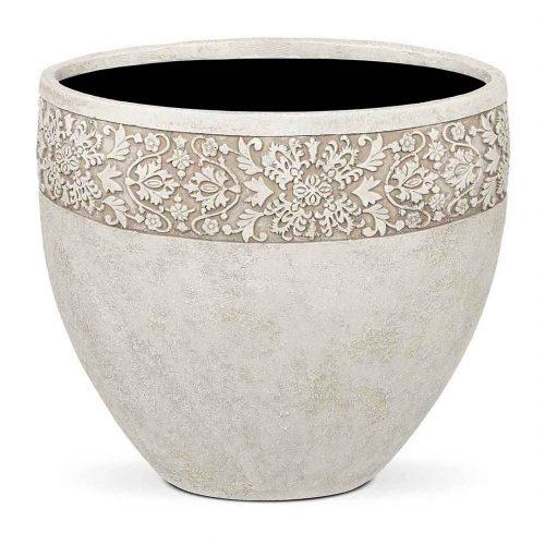 Classic Vase Round Deco Rim