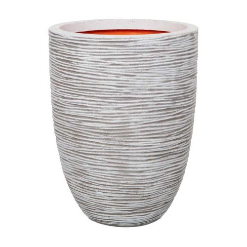 Nature Vase Elegant Low Rib NL