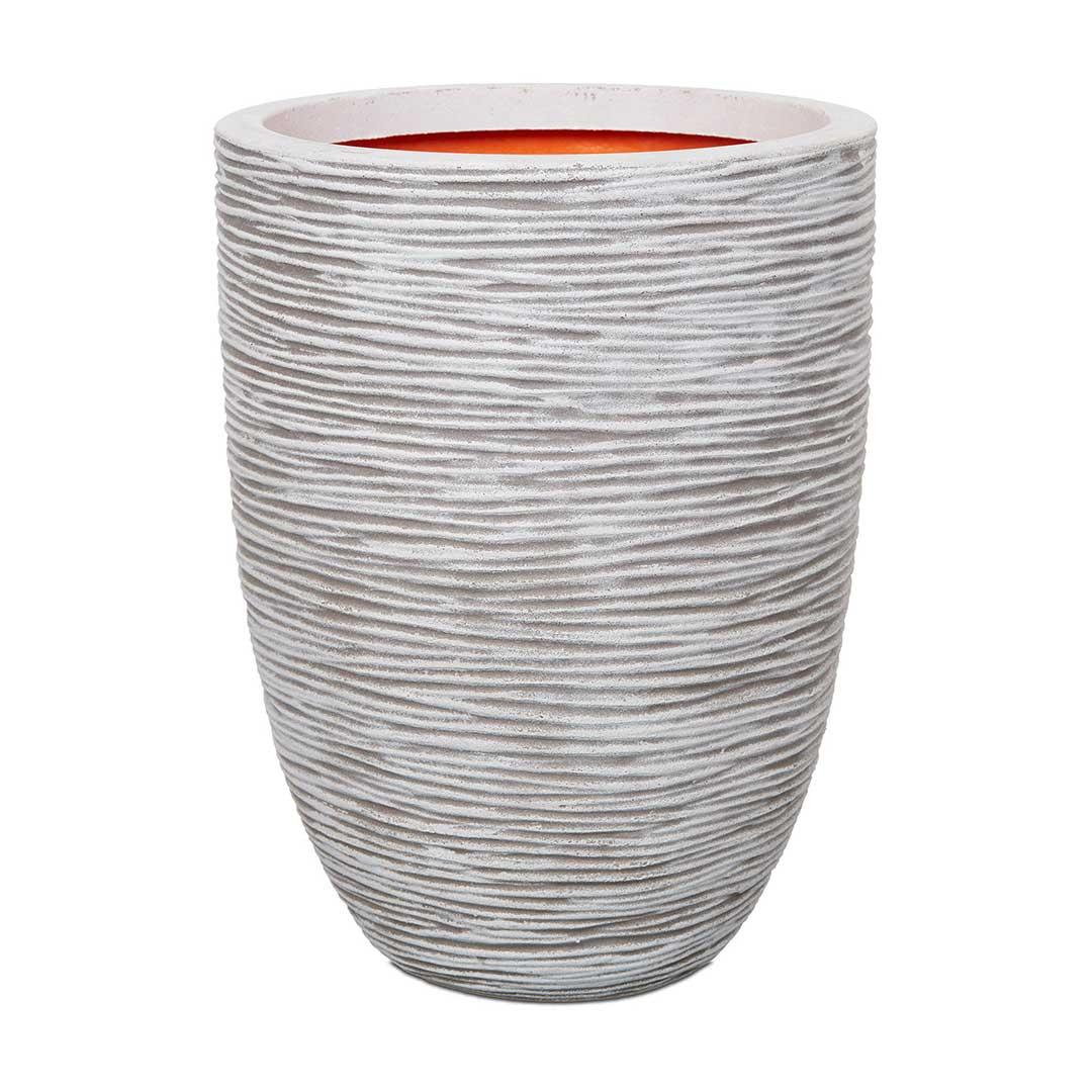 Nature Vase Elegant Low Rib NL