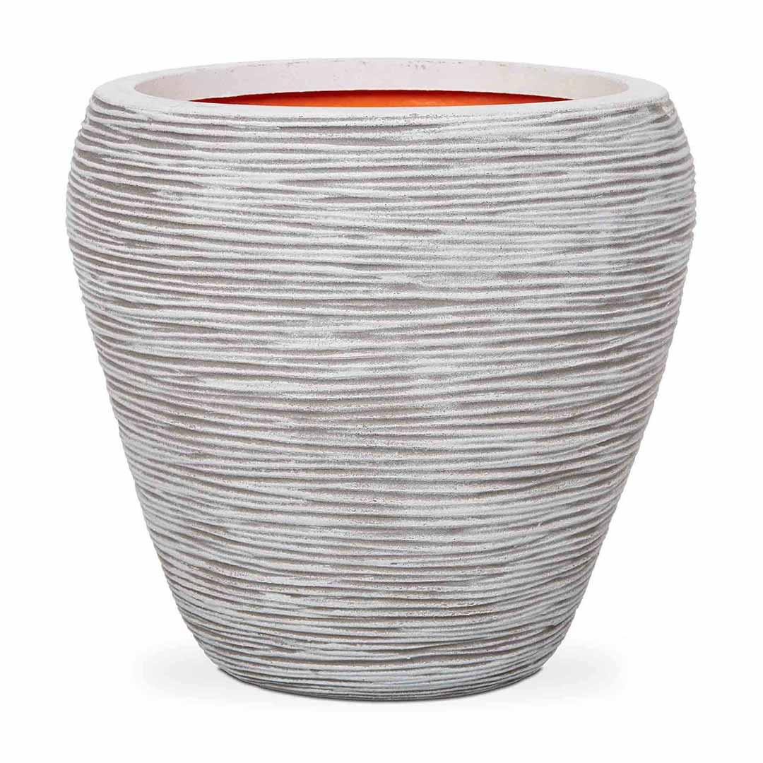 Nature Vase Tapered Round Rib NL