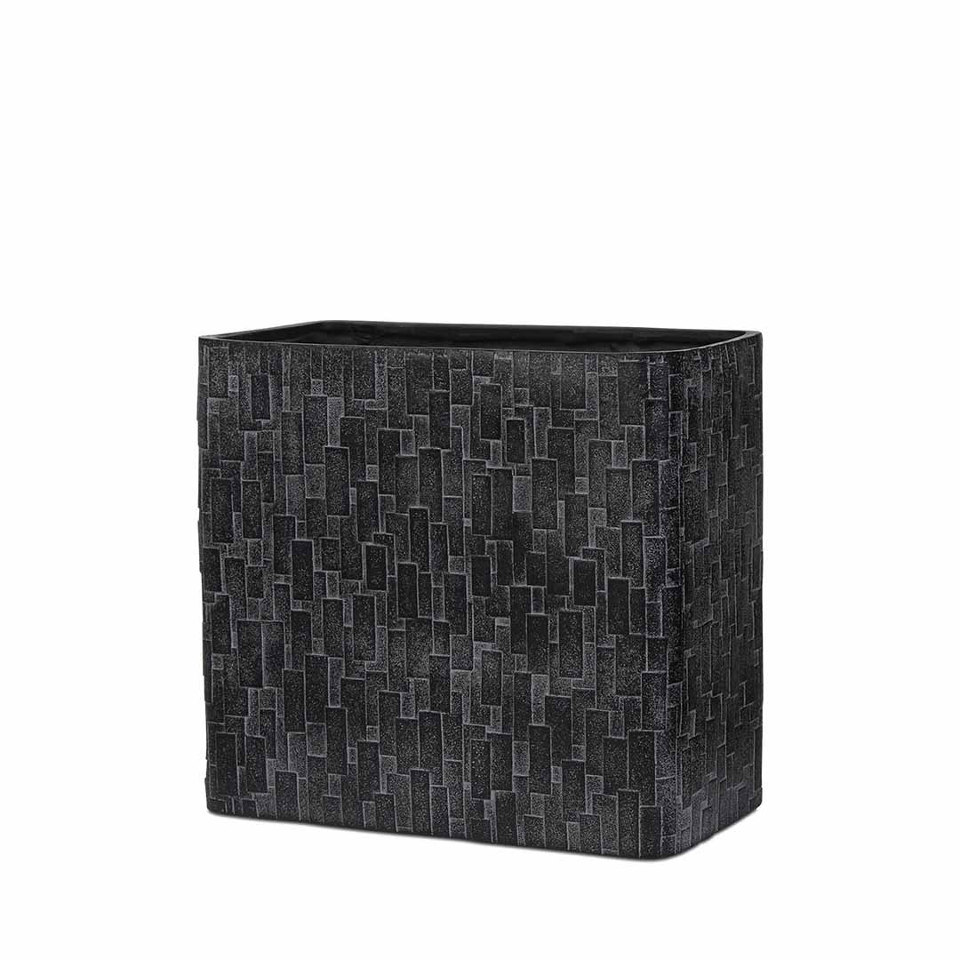 Planter Rectangle High Stone Indoor