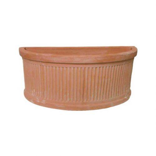 Striped Half-sized Pot