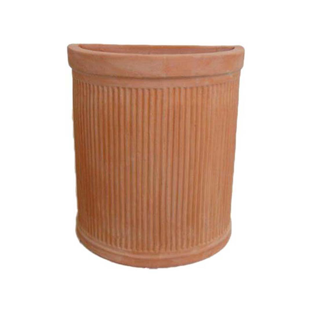 Striped Tall Half-sized Pot