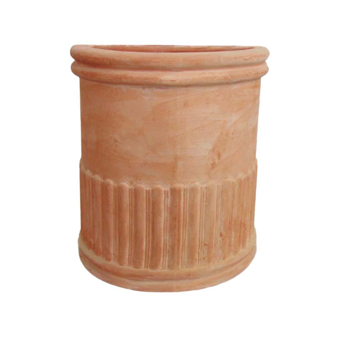 'Baccellato' Half-sized Tall Pot