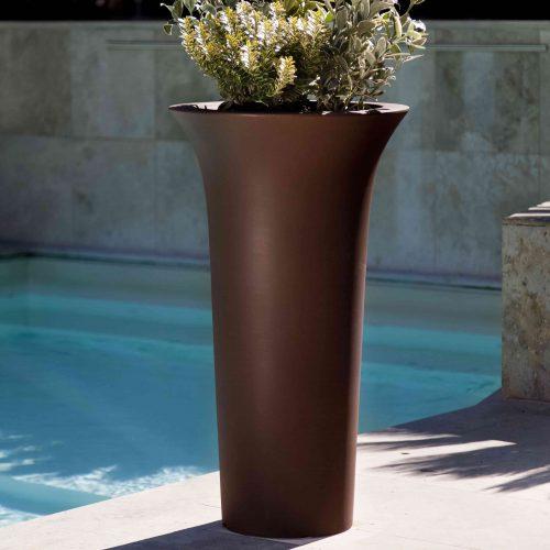 'Flos' Round Pot