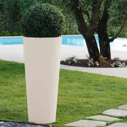 'Hydra' Tall Cylinder Planter
