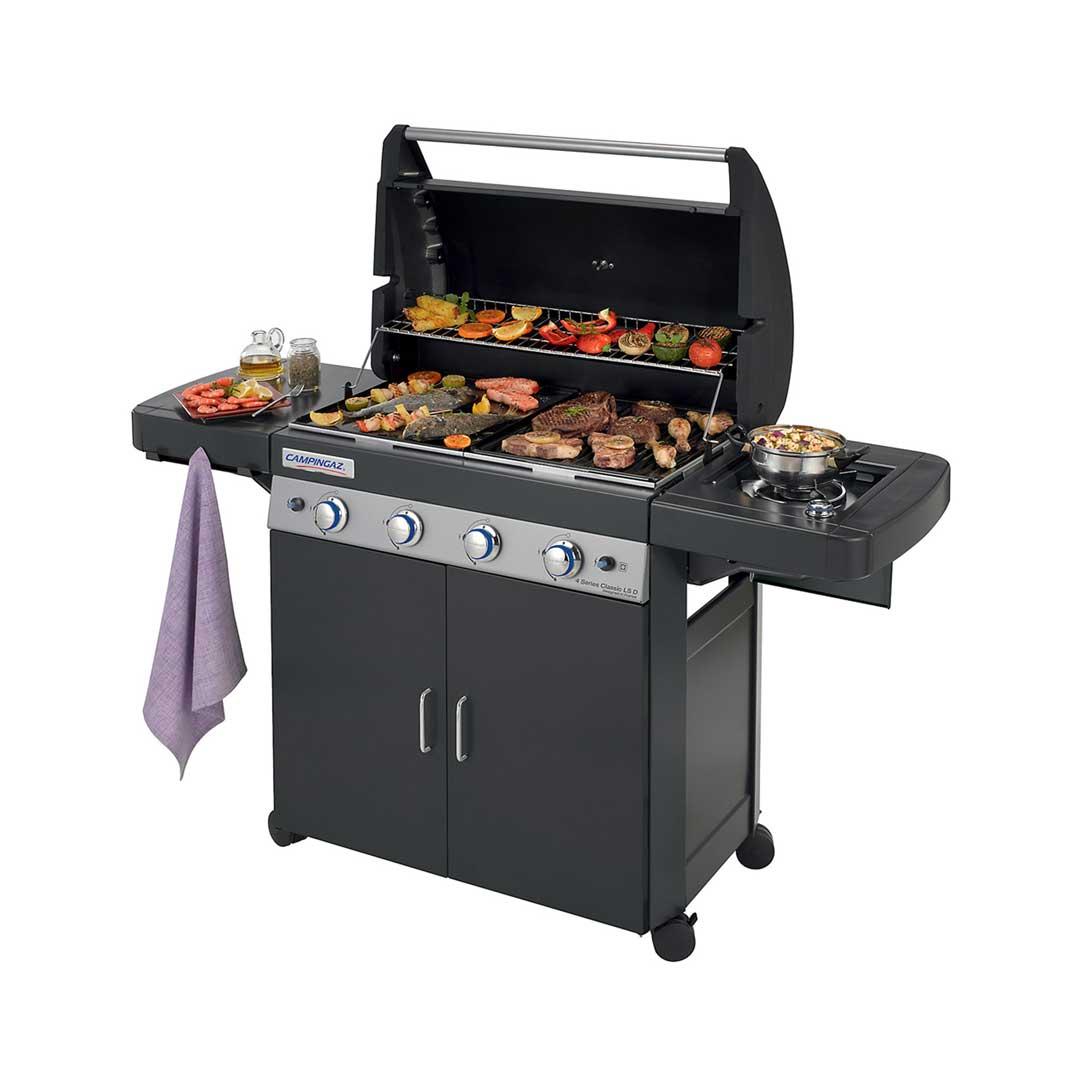 4 Series Classic LS Black Barbecue