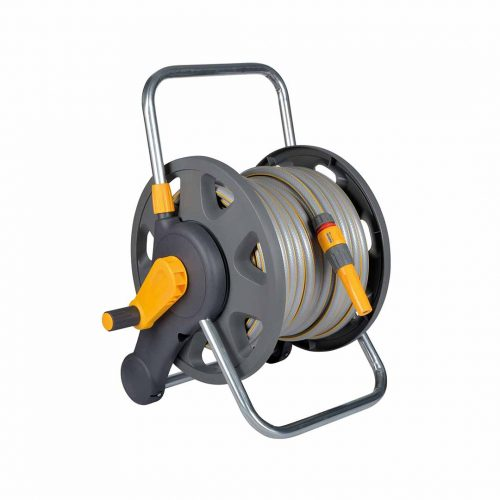 Assembled 2-in-1 Hose Reel (60m) with Hose