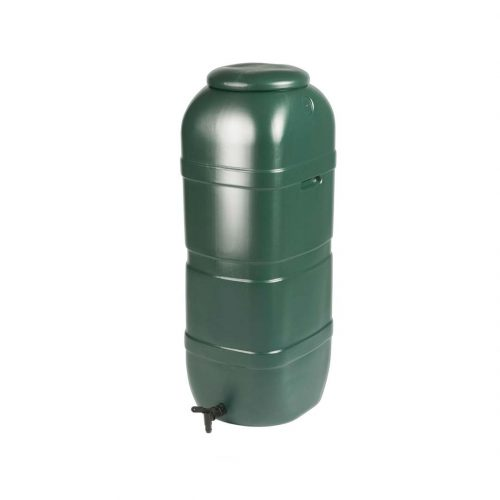 100 Litre Slim Space Saver Water Butt with Tap and Lid