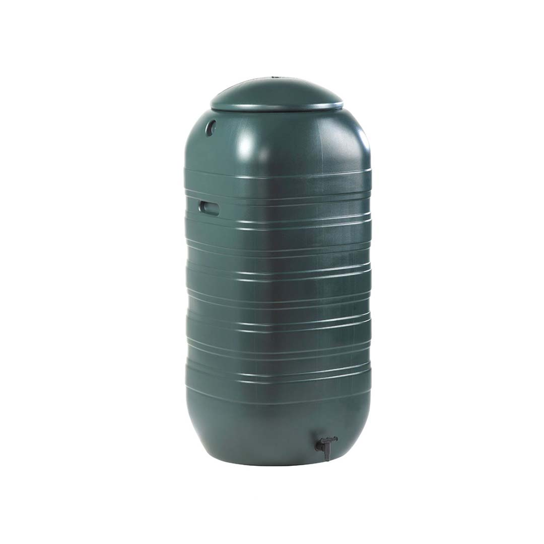 250 Litre Slim Space Saver Butt with Tap and Lid