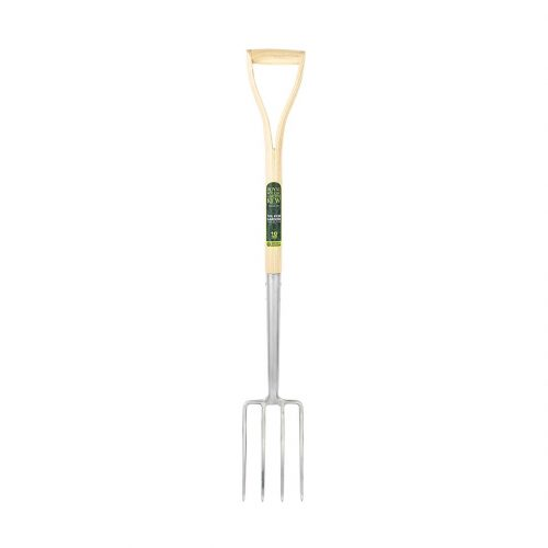 The Kew Gardens Collection Neverbend Stainless Border Fork