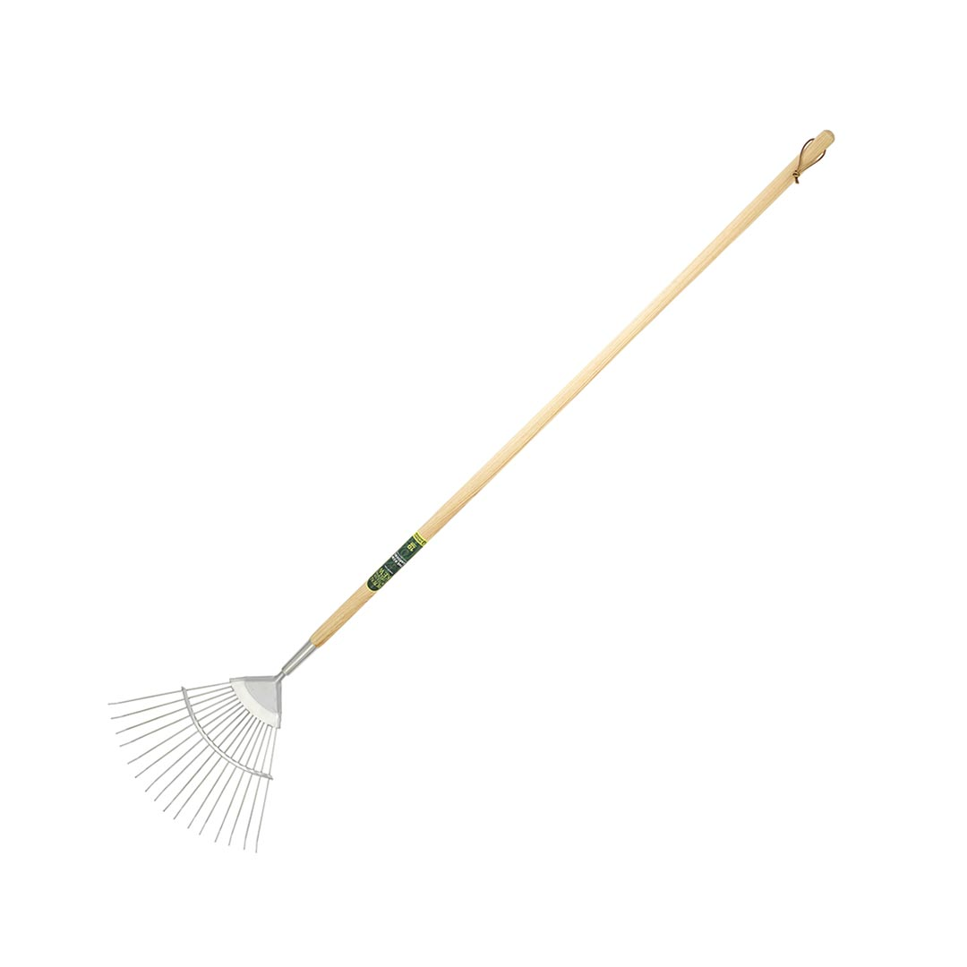 The Kew Gardens Collection Neverbend Stainless Flexo Lawn Rake