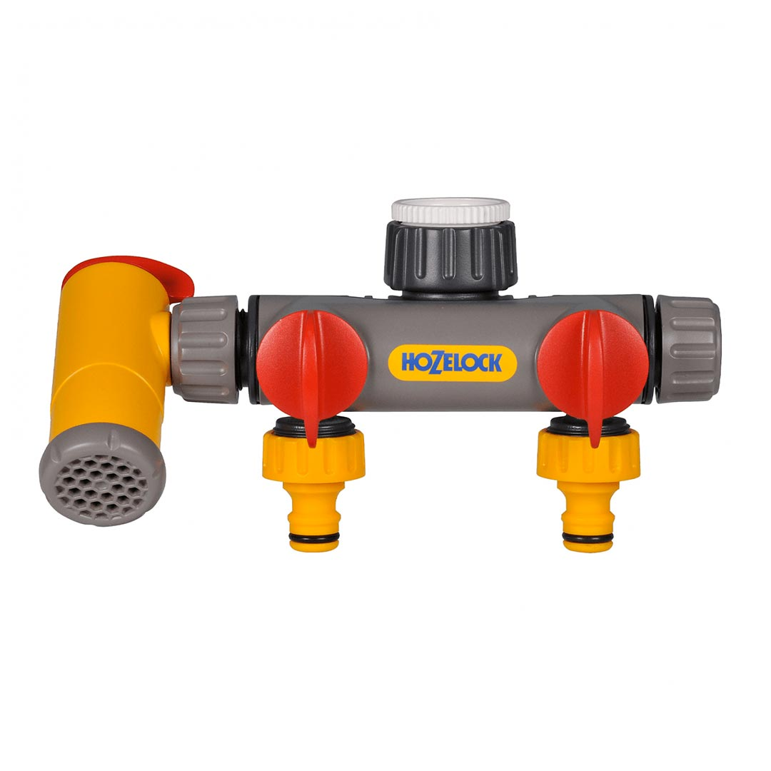 Flowmax 3-Way Tap Connector